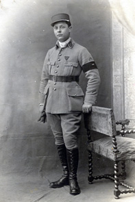 Maurice 1918 en uniforme